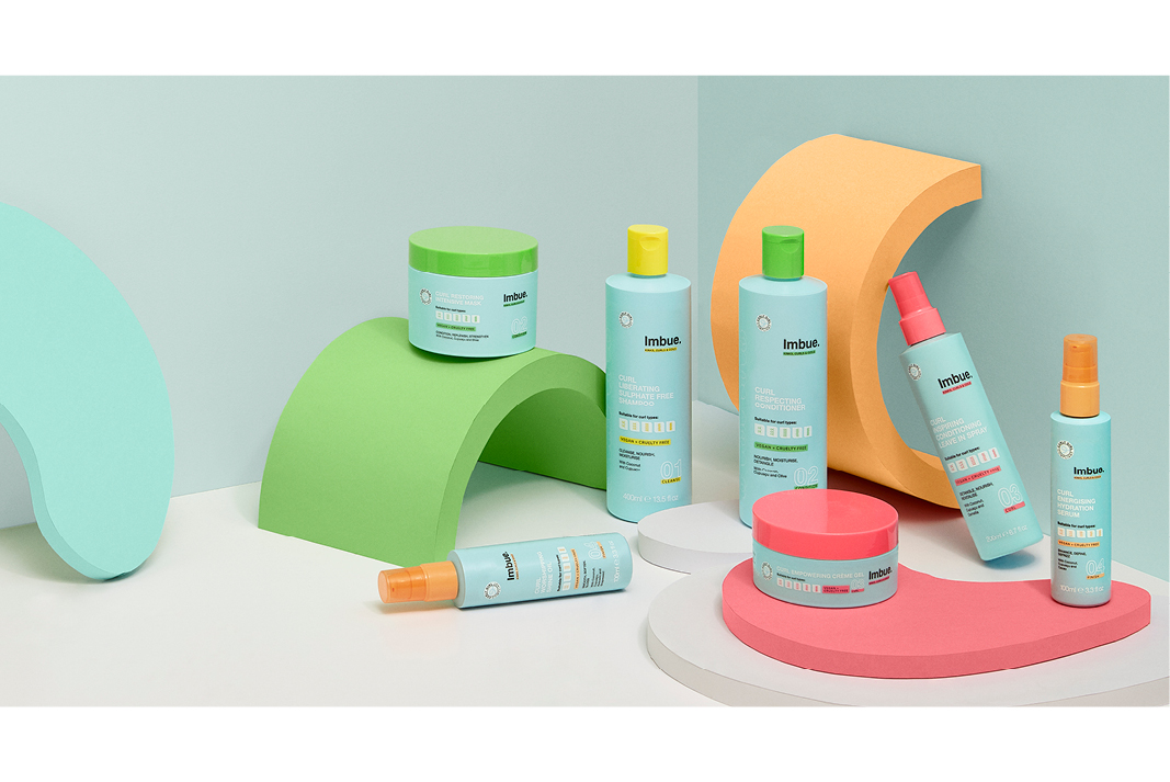 Imbue Kinks Curls and Coils campaign